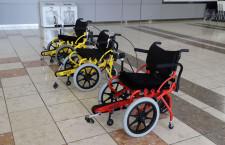 仙台空港、足こぎ車いす「コギー」の物流拠点 検査・在庫管理受託