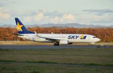 スカイマーク、羽田-福岡・札幌6月追加運航 週末に8往復