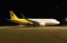 バニラ塗装で関空へ戻ったA320、商業運航はピーチ塗装後に