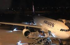 ハワイアン航空、関空8カ月ぶり再開 週3往復、羽田も