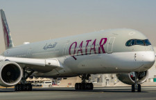 カタール航空、53機目のA350受領 世界最多に
