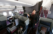 写真特集・JAL 11代目CA新制服と主要機材(1)A350-900編