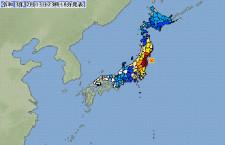 福島・宮城で震度6強 仙台空港は震度5強観測