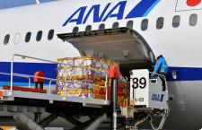 新型コロナワクチン、第3便が成田到着 ANAの787で最大52万回分