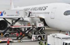 JAL A350、伊丹でフィットチェック終え羽田へ