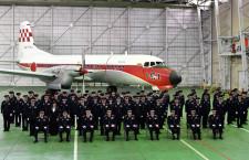YS-11FC、退役で機種更新記念式典 空自最古の機体