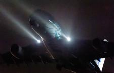 ANAのA380、2号機も重整備でアモイへ 深夜の成田から