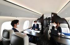 双日、最新ビジネスジェットGlobal7500のチャーター開始 東京-NY直行も