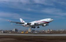 Il-96-300、最新生産機が初飛行