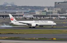 JAL、羽田-パリ12月増便へ 冬ダイヤ欧州強化、北米発中部行き臨時便も