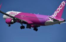 ピーチ、21路線で追加減便 10月運航率70.9%に