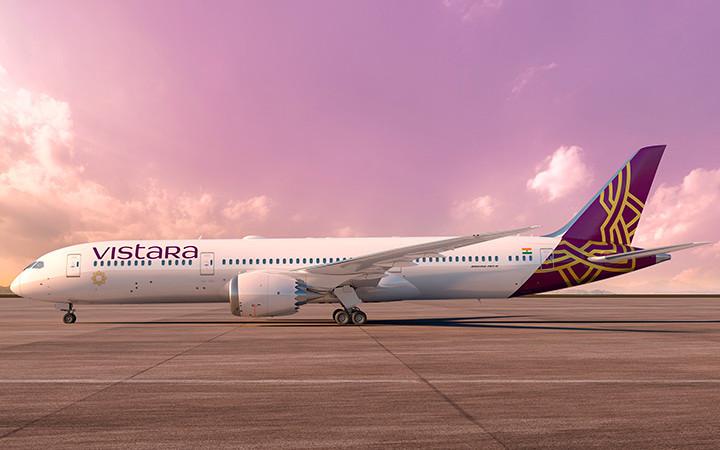 印ビスタラ、羽田6月就航へ デリーから週1往復、787-9で