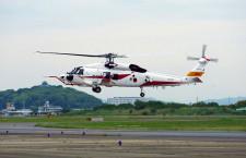 三菱重工、海自新哨戒ヘリ飛行試験開始 SH-60K能力向上型