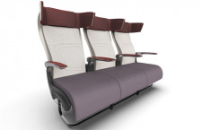 LIFT、ベッドになるエコノミー席 単通路機向け、幅拡大で快適性向上
