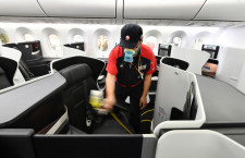 ZIPAIR、787の抗菌コーティング完了 ホノルル再開前にコロナ対策