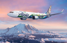 ボーイングとアラスカ航空、737MAXで環境飛行試験