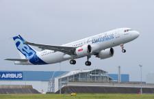 エアバスとサフランら、100%代替燃料でA320neo飛行調査 年末に開始