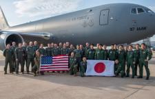 空自405飛行隊、米でKC-46訓練 アルタス空軍基地で