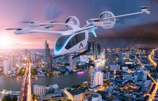 """エンブラエル系""""空飛ぶクルマ""""、アジアで導入目指す シンガポール社と提携"""