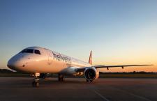 エンブラエル、民間機納入14機 受注残は306機、21年4-6月期