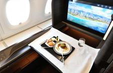 ANAのA380、10月もレストランに 機内見学でシート体験も