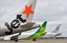 JAL、成田空港にグループLCC3社機そろう 春秋航空日本を子会社化