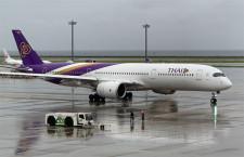 タイ国際航空、中部-バンコク旅客便再開 1年4カ月ぶり