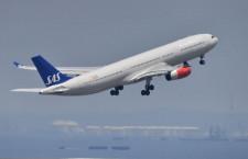 スカンジナビア航空、羽田からコペンハーゲン初便出発 A330で週2往復
