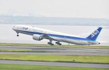 """ANA、""""翼のレストラン""""777-300ERが翼振り離日 ホノルル経由で売却先へ"""