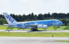 ANAのA380、エコノミー先着販売チャーター開催 セブン子会社