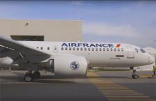 エールフランスのA220初号機、新塗装でロールアウト