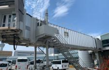 羽田空港の搭乗橋、放射冷却素材でひんやり 日本空港ビルがラディクール販売