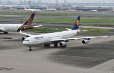 ルフトハンザ、羽田-フランクフルト線にA340-300 747-8から小型化