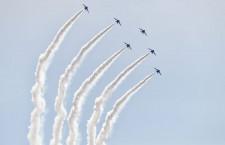 ブルーインパルス、庄内空港30周年で展示飛行 10/23に