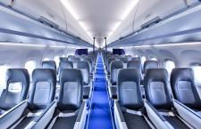 ルフトハンザ、新客室仕様のA321neo就航 「エアスペース」で手荷物収納棚大型化