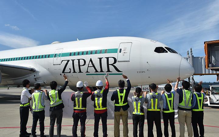 ZIPAIR、成田-シンガポール12月から増便 週3往復