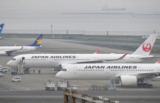 JALのA350、11号機が羽田到着 発注分6割を受領、初便は16日
