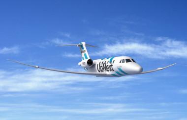 エアバス、ビジネスジェットで超高性能翼の実証実験 サイテーションVIIを改修