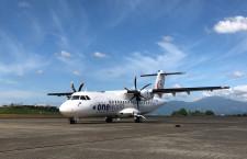 HACのATR3号機、鹿児島に到着 11月就航へ
