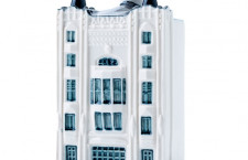 KLM、トゥシンスキー劇場のミニチュアハウス ビジネスクラス客に提供