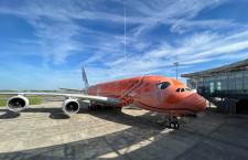 ANA、A380 3号機を正式受領 16日に成田到着