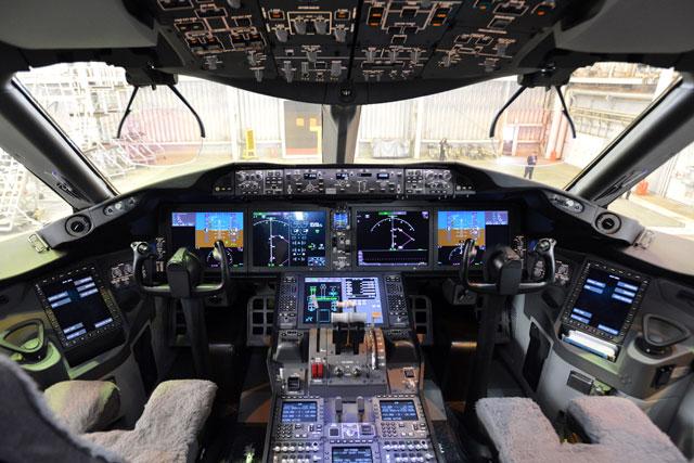 Kawasaki C  Cockpit