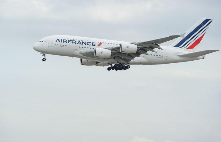 フランス エール エールフランス、A380退役前倒し 新型コロナ影響、9機