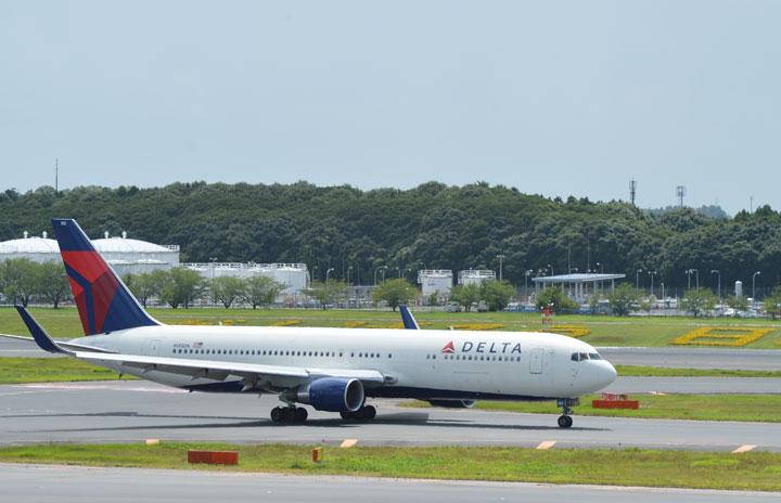 デルタ航空、25年末までに383機退役 767や777、CRJ