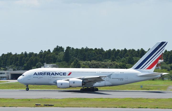 エールフランス、A380ラストフライト 11年の歴史に幕