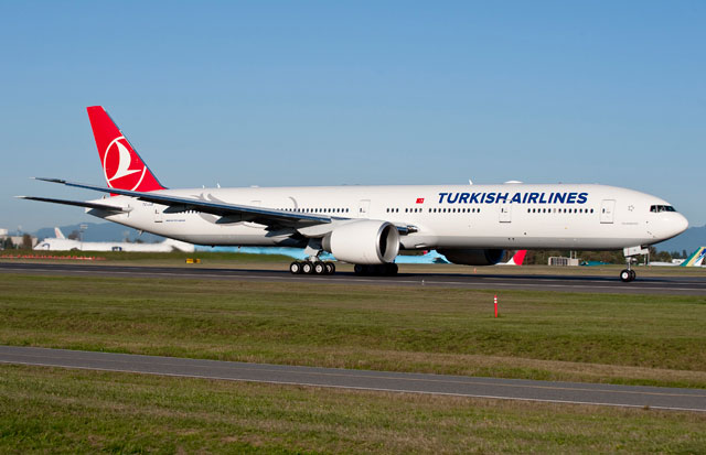 トルコ航空、777-300ERを15機発注