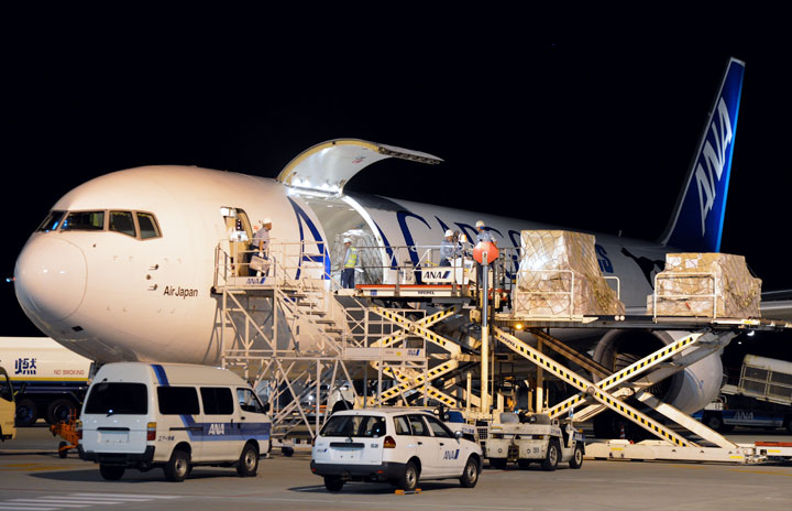 ANA、沖縄貨物ハブ見直し 貨物機は運休継続