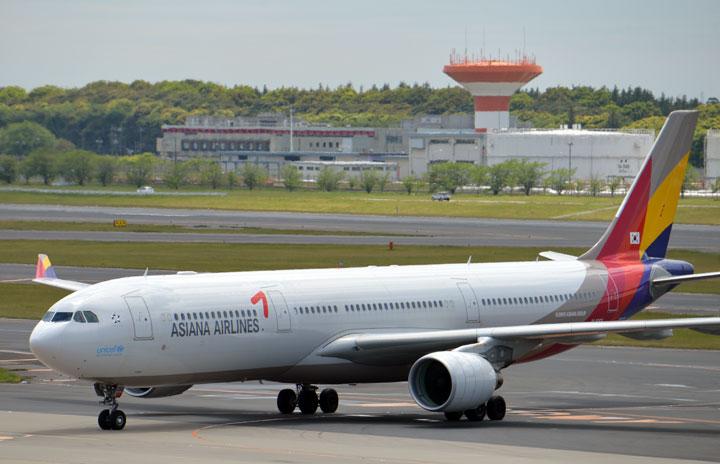 アシアナ航空、8カ月ぶり中部行き 政府の制限緩和で