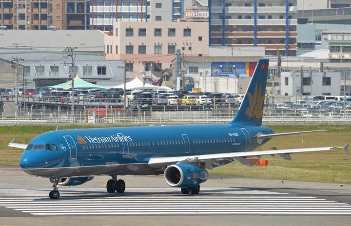 ベトナム航空、福岡から帰国支援便 14日、ニャチャン経由カントー行き