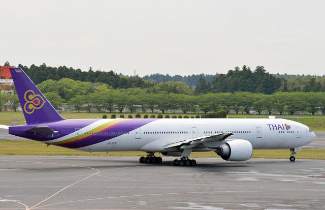 タイ国際航空、日本定期便21年1月再開へ 成田週3往復、関空は週1往復